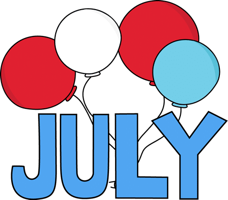 July  Clipart