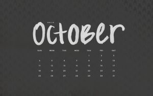 Black is not a color it's a attitude so have attitude and make October awesome