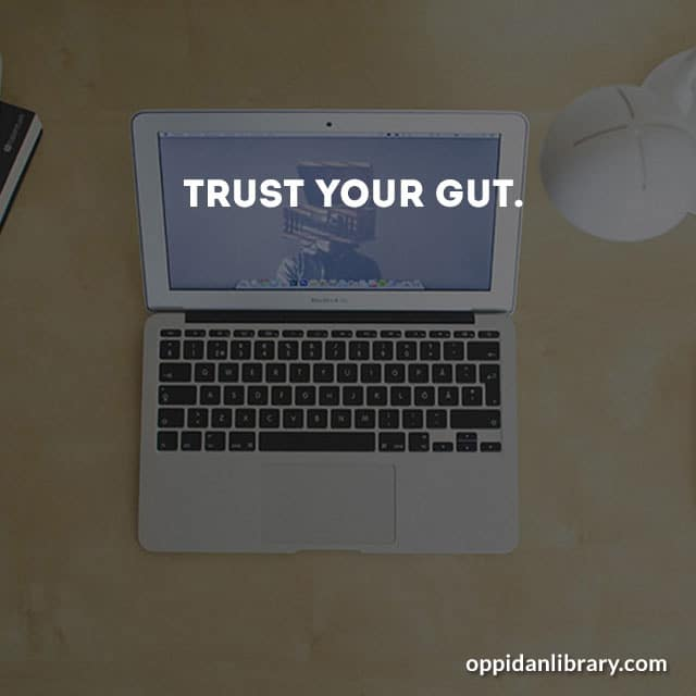 Download November 2018 business tips trust your gut