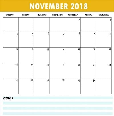 Do you think the habit to note the thing make our life manageable and through the download printable calendar and to note the thing, we can make a planed month