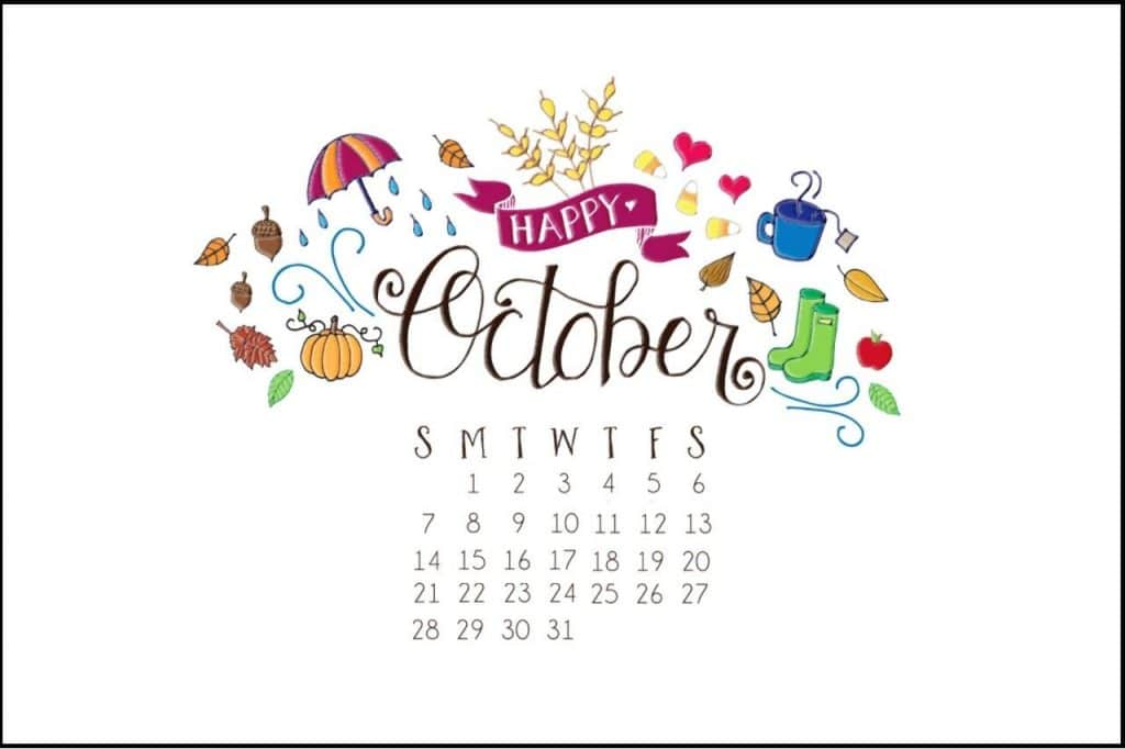 Have a Happy October with perfect piece